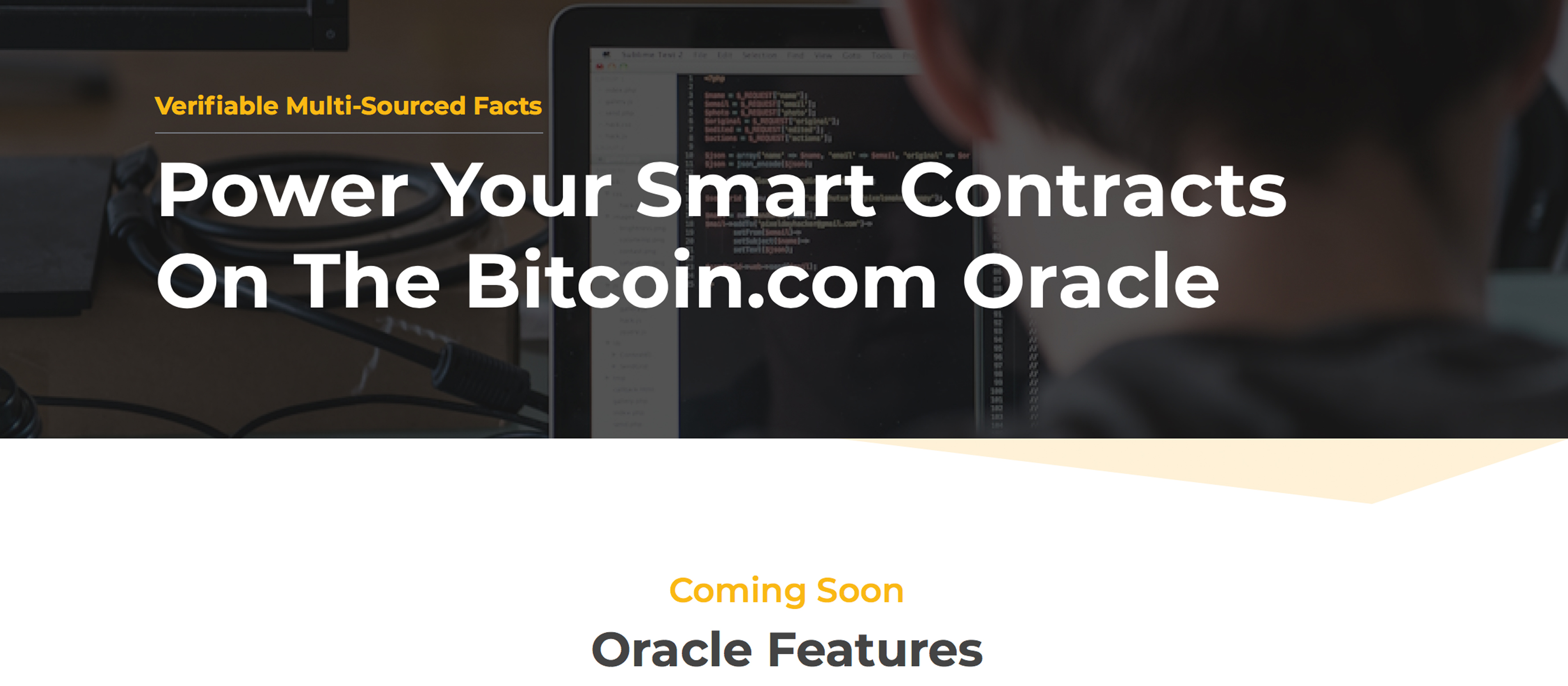 Bitcoin.com's Oracle Aims to Bolster BCH-Powered Smart Contracts - BTC Shore